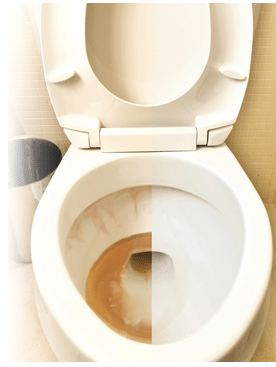 Astuce de génie pour détartrer le fond de la cuvette des WC sans effort!