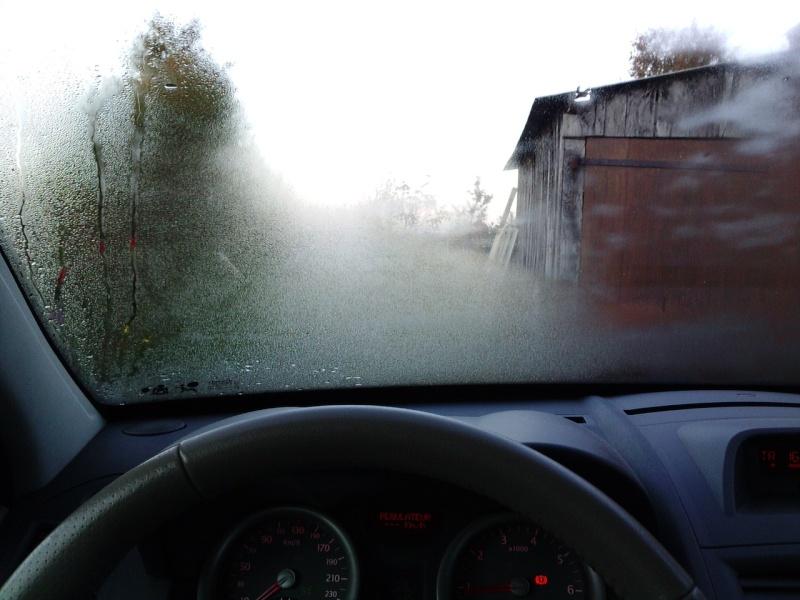 Astuce incroyable pour stopper la buée en voiture