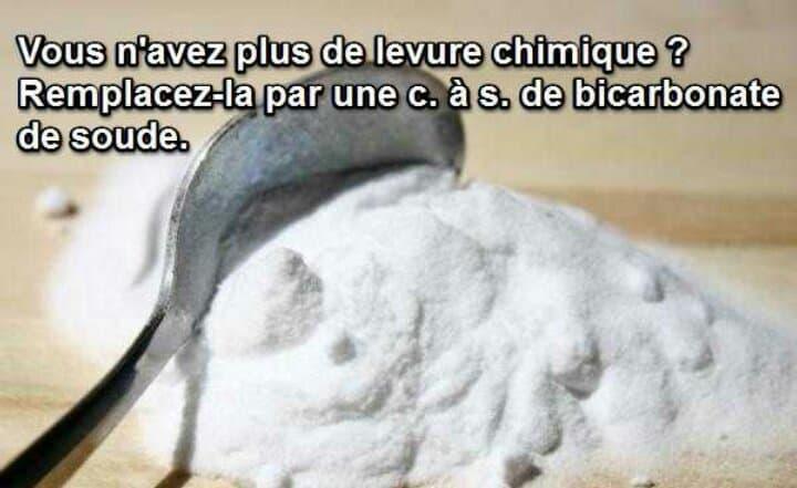 Le bicarbonate pour remplacer la levure chimique dans une recette gâteau