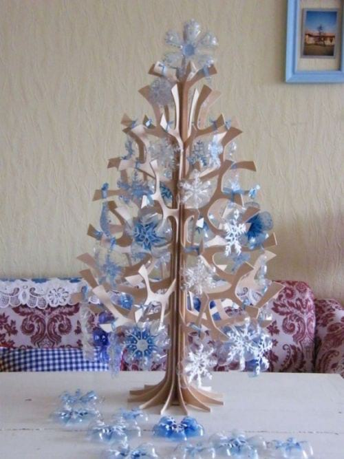 Magnifiques flocons pour la décoration de  Noël