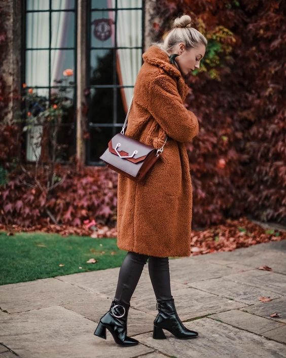 Manteaux en peluche