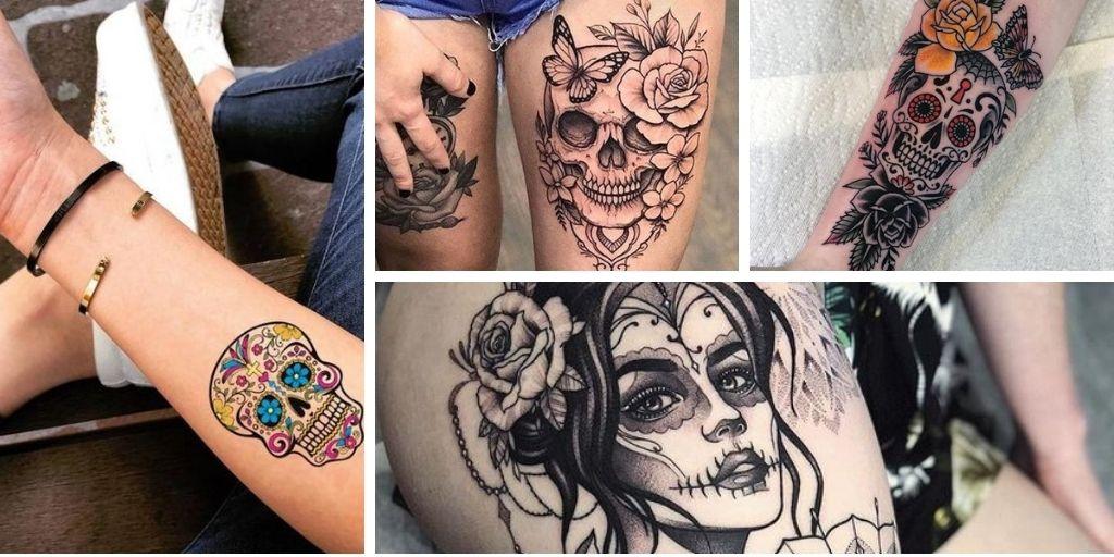Tatouage Suger Skull: nos 14 superbes tatoo coup de cœur!