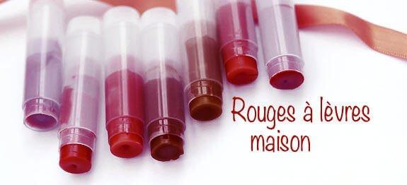 La recette de rouge à lèvres maison