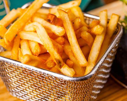 La recette des frites croustillantes