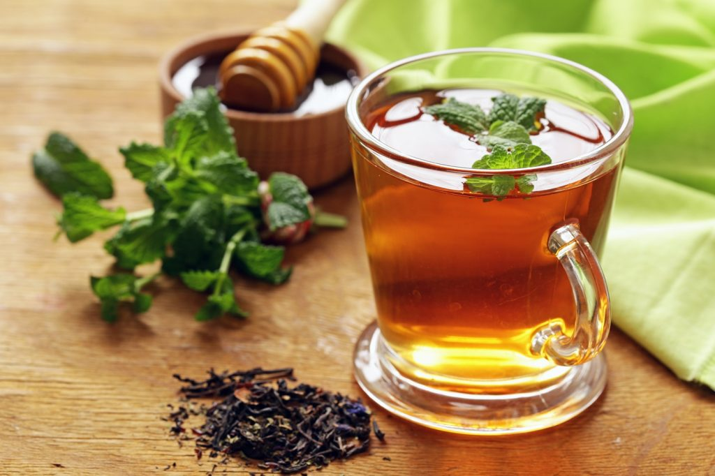 Le thé vert contre le rhume et la fièvre