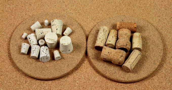 Récupérer des bouchons de champagne pour fabriquer un portemanteau