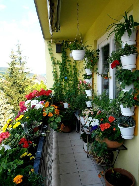 aménager un petit balcon