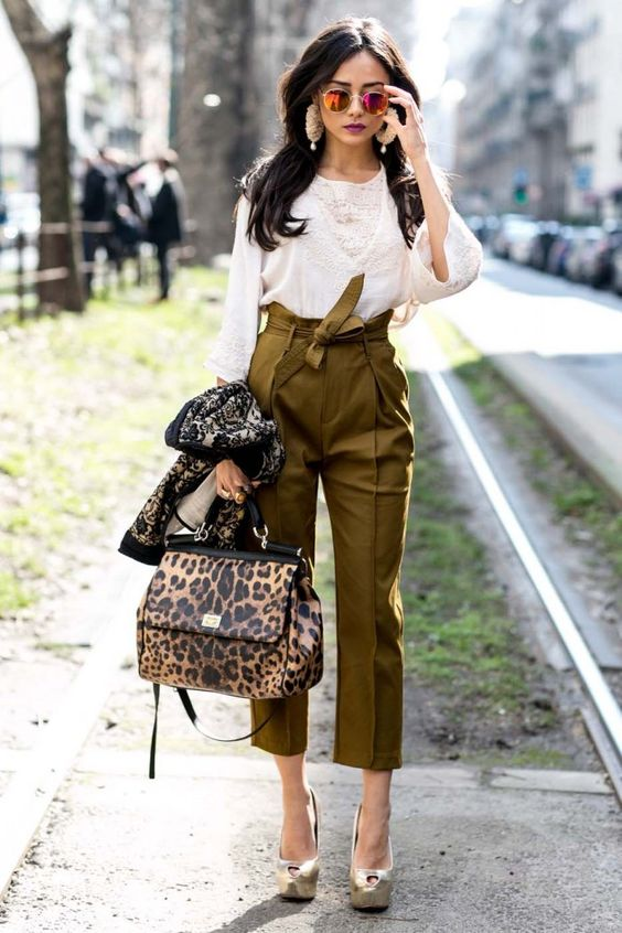 pantalon femme printemps